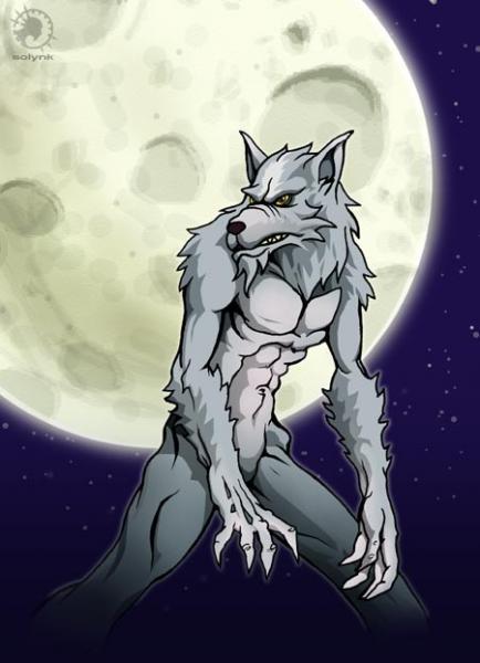Loup garou - Dessin loup garou ...
